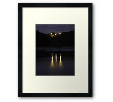 Night on the Water Framed Print