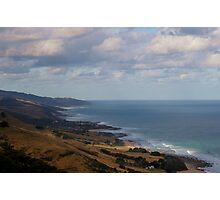 from land to sea Photographic Print