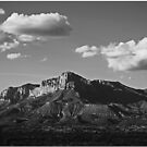 Guadalupe Range by Chet  King