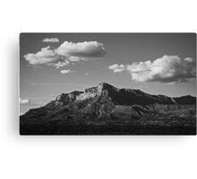 Guadalupe Range Canvas Print