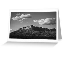Guadalupe Range Greeting Card