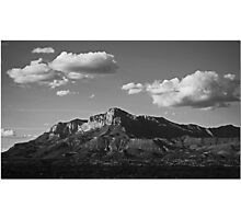 Guadalupe Range Photographic Print