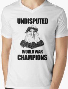 Undisputed World War Champions Mens V-Neck T-Shirt