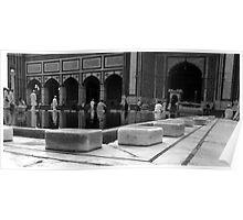Jama Masjid - Delhi India Poster