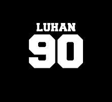 Luhan EXO 90 Football Design EXO-M by impalecki