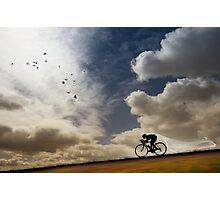 Aero Descent Photographic Print