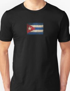 Old and Worn Distressed Vintage Flag of Cuba Unisex T-Shirt