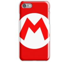 Super Mario Mario Icon iPhone Case/Skin