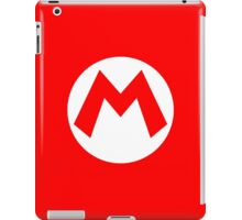 Super Mario Mario Icon iPad Case/Skin