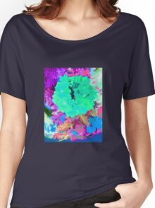 Turquoise Pinks Women's Relaxed Fit T-Shirt