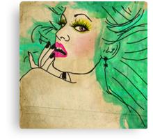 Florence Had A Secret [Shhh...] sq version Canvas Print