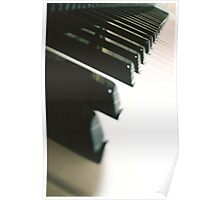 Piano 3, pattern Poster