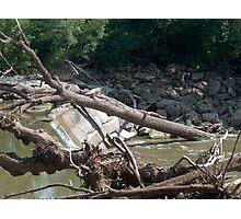 Dam at Cottonwood Falls, Kansas Photographic Print