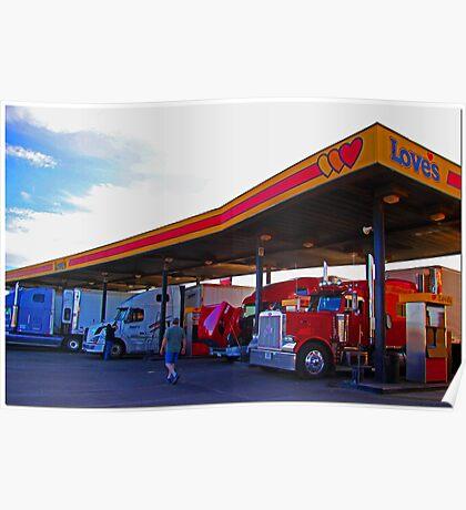 Truck Stop: Amarillo, TX. Poster