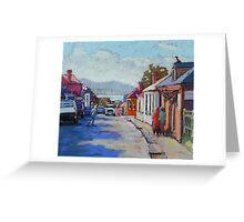 Battery Point, Hobart,Tasmainia Greeting Card