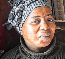 Poli  A Xhosa Lady by Warren. A. Williams