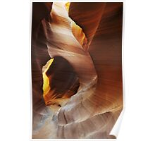The Path to Enlightenment, Antelope Canyon Poster