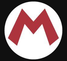 Super Mario Mario Icon One Piece - Short Sleeve