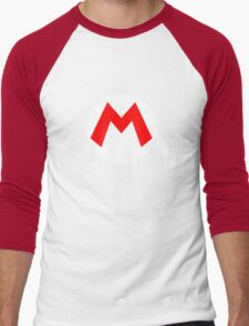 Super Mario Mario Icon Men's Baseball ¾ T-Shirt