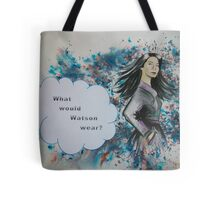 What would Watson wear? Tote Bag