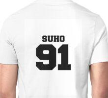 Suho EXO 91 Football Design EXO-K Unisex T-Shirt