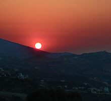 Cretian Sunset by Gary Heald LRPS