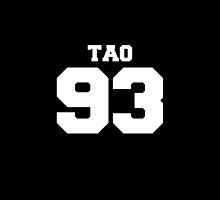 Tao EXO 93 Football Design EXO-M by impalecki