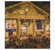 Quincy Market at Christmas One Piece - Short Sleeve