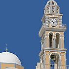 Bell Tower on Santorini by imagic