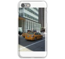 New York Taxi Cabs iPhone Case/Skin