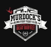 Murdock's Blind Fury Fight Club - Dist Red/White V03 by coldbludd