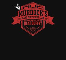 Murdock's Blind Fury Fight Club - Dist Red/White Unisex T-Shirt