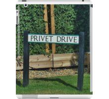 Privet Drive iPad Case/Skin