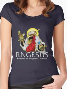 RNGesus  Women's Fitted Scoop T-Shirt