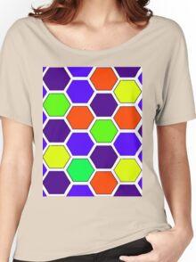 HONEYCOMB-2A Women's Relaxed Fit T-Shirt