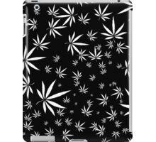 White Marijuana Leaves iPad Case/Skin