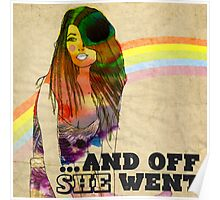 ...and off she went ♥ Poster