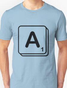 A scrabble print Unisex T-Shirt