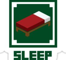 Eat, Sleep, Mine Sticker