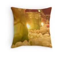 Singapore Temple Offering Lamps 2 Throw Pillow
