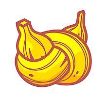 Banana Node Photographic Print