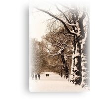 Trees in Sepia - Greenwich Park Canvas Print