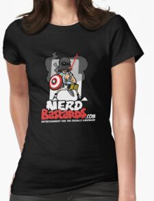 THE Nerd Bastard...  Womens Fitted T-Shirt