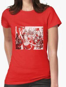 SOVIET COMMUNIST PARTY revolution fist Womens Fitted T-Shirt