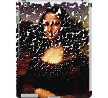 Mona Lisa on the Wall iPad Case/Skin