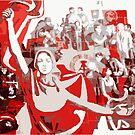 SOVIET COMMUNIST PARTY revolution fist by SofiaYoushi