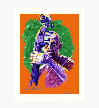 Jazz portraits-Enzo Pietropaoli Art Print