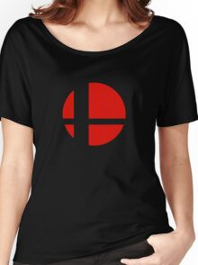 Super Smash Bros Icon Women's Relaxed Fit T-Shirt