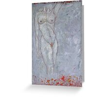 Flame Goddess Greeting Card