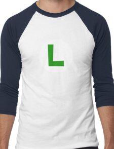 Super Mario Luigi Icon Men's Baseball ¾ T-Shirt